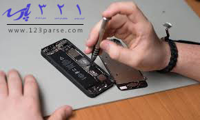آموزش تعمیر تاچ آی دی گوشی آیفون -آموزش تعمیرات موبایل رایگان