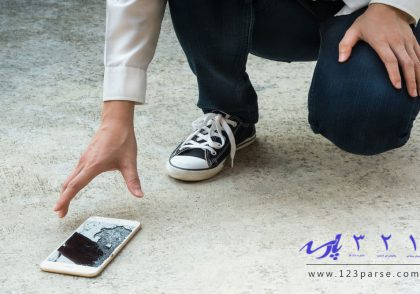 چگونه شکستگی تاچ و ال سی دی گوشی را تشخیص دهیم؟